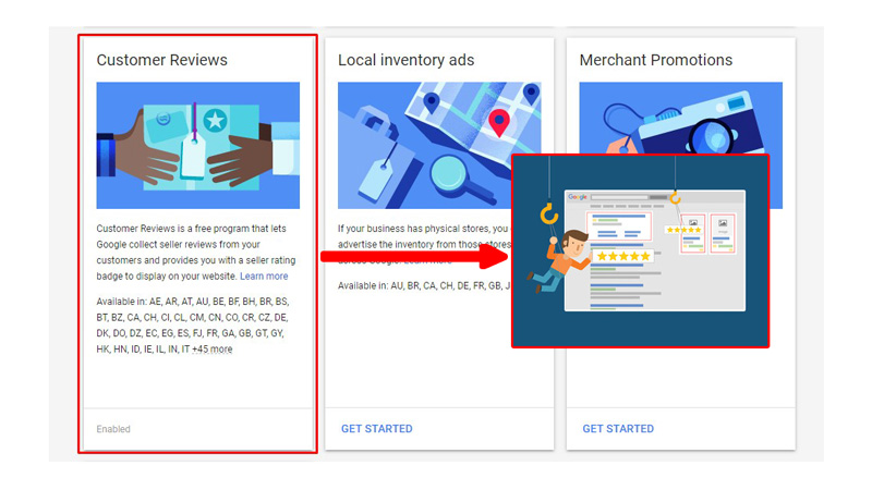 Tích hợp Google Merchant Review vào website WordPresss