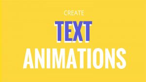 Code hiệu ứng chuyển động cho chữ (Text Animation)