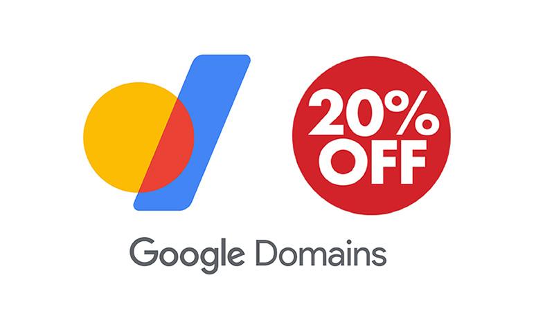 Google Domains - Giảm 20%