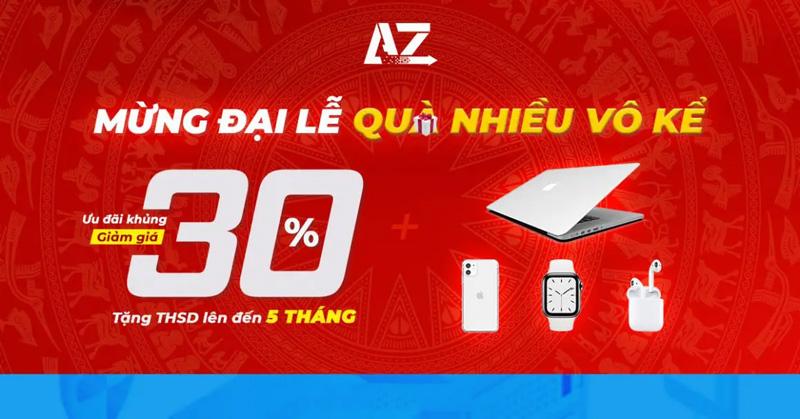 AZdigi khuyến mãi dịp 30/4 lên đến 30% các dịch vụ Hosting, VPS, PositiveSSL